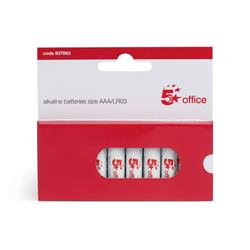 5 Star Office Batteries AAA [Pack10]