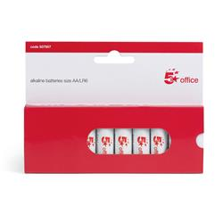 5 Star Office Batteries AA [Pack10]