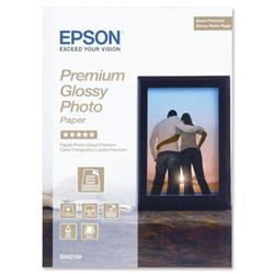 "Epson Premium 130x180mm 5x7"" Glossy Photo Paper Ref C13S042154 - 30 Sheets"