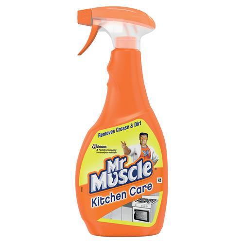 Kitchen Cleaner: Buy Mr Muscle Kitchen Cleaner Lemon Trigger Spray For All