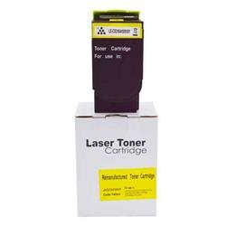 ALPA-CArtridge Remanufactured Lexmark CX310 Yellow Toner 80C2SY0 802SY