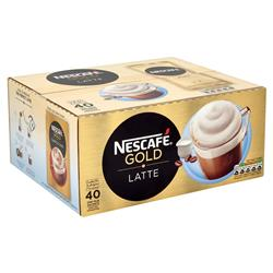 Nescafe Latte Instant Coffee Sachets One Cup Ref 12240290 [Pack 40]