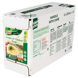 Knorr Soup Ready-to-Eat Cream of Chicken 250ml Ref 15181803 [Pack 12]