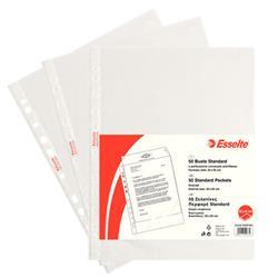 Buste a foratura universale Copy Safe Esselte Standard - goffrata - 22x30 cm - basso spessore - conf. 50