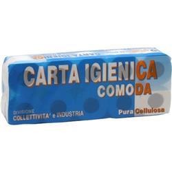 Carta igienica Lucart - pura cellulosa - 2 veli - 155 strappi - conf. 10
