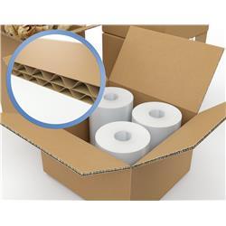 Corrugated Box Double Wall 0201 120K/BC/T 305 x 229 x 152mm (12 x 9 x 6) Pack 15 Ref 59797