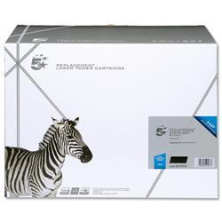 5 Star Office Remanufactured Laser Toner Cartridge 10000pp Black [HP No. 64A CC364A Alternative]