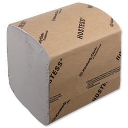 Hostess Toilet Tissue Bulk Recycled Biodegradable Sheet 186x114mm 520 Sheets Ref 4471 - 36 Sleeves