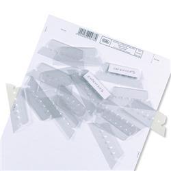 Elba Verticflex Plastic Tabs for Suspension Files Ref 100330217 [Pack 25]