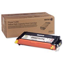 Xerox Laser Toner Cartridge High Yield Page Life 5900pp Yellow Ref 106R01394