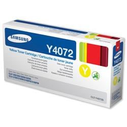 Samsung CLT-Y4072 Yellow Laser Toner for CLP-320/CLP-325/CLX-3185 Series Ref CLT-Y4072S/ELS