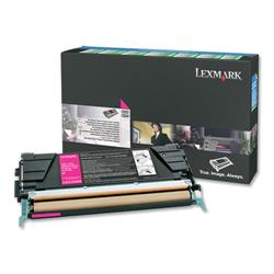 Lexmark Laser Toner Cartridge Return Program Page Life 3000pp Magenta Ref C5220MS