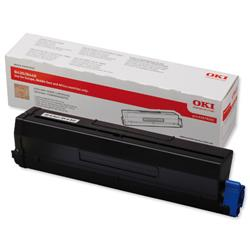 Oki High Yield Black Laser Toner Cartridge for B410/B430/B440 Ref 43979202