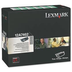 Lexmark T630/T632/T634 21k Black Return Program Laser Toner Cartridge Ref 0012A7462