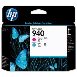 Hewlett Packard HP No. 940 Inkjet Printhead Cyan and Magenta Ref C4901A