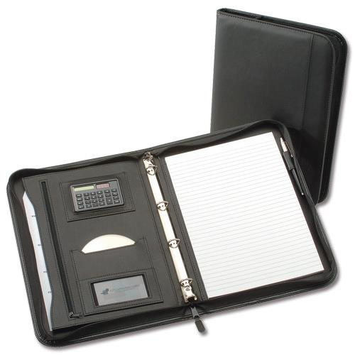 5 Star Office Zipped Conference Ring Binder With