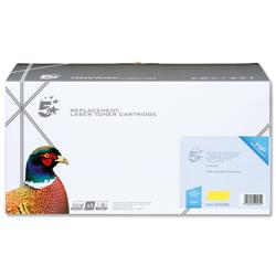 5 Star Office Remanufactured Laser Toner Cartridge 11000pp Yellow [HP No. 648A CE262A Alternative]