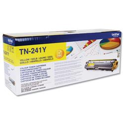 Brother Laser Toner Cartridge Page Life 1400pp Yellow Ref TN241Y