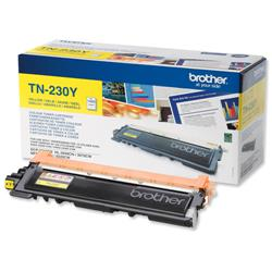 Brother TN-230Y Yellow Laser Toner Cartridge Ref TN230Y