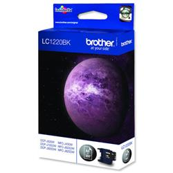 Brother LC-1220BK Black Inkjet Cartridge Ref LC1220BK