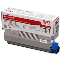 OKI Black Laser Toner Cartridge for C5650/C5750 Ref 43865708