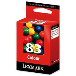 Lexmark No. 83 Colour Standard Inkjet Cartridge for Z55 Z65 N Ref 18L0042
