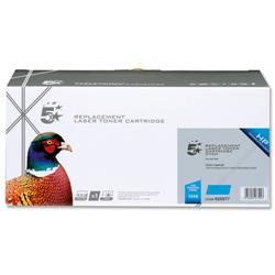 5 Star Office Remanufactured Laser Toner Cartridge 2000pp Cyan [HP No. 124A Q6001A Alternative]