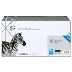 5 Star Office Remanufactured Laser Toner Cartridge 6000pp Black [HP No. 10A Q2610A Alternative]
