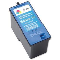 Dell No. UK852 Series 15 Inkjet Cartridge Standard Capacity Colour Ref 592-10306