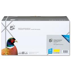 5 Star Office Remanufactured Laser Toner Cartridge 7000pp Yellow [HP No. 504A CE252A Alternative]
