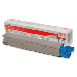 OKI 43459435 1.5K Cyan Microfine Laser Toner for C3450/C3600/C3300n/C3400n Ref 43459435