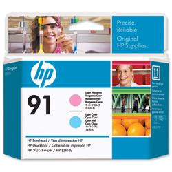 HP Inkjet Printhead No. 91 Light Magenta & Light Cyan Ref C9462A