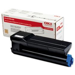 Oki High Capacity Black Laser Toner Cartridge for B440 Ref 43979216