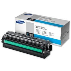 Samsung Laser Toner Cartridge High Yield Page Life 3500pp Cyan Ref CLT-C506L/ELS