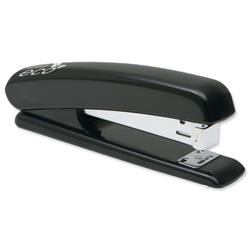 Rapesco Eco Stapler Recycled ABS Casing Full Strip No.s 24/6 26/6 Black Ref 1085