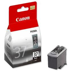 Canon PG-37 Inkjet Cartridge Black Ref 2145B001