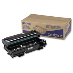Brother Laser Drum Unit Page Life 20000pp Black Ref DR7000