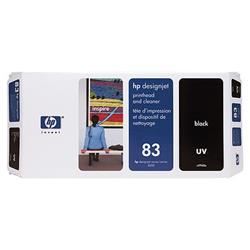 HP Inkjet Printhead & Cleaner No. 83 UV Black 13 ml Ref C4960A