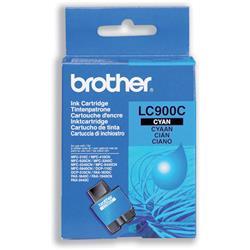 Brother LC900C Cyan Inkjet Cartridge Ref LC-900C