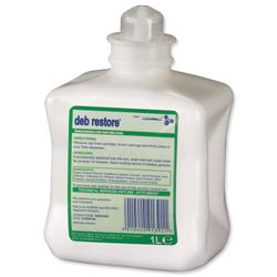 DEB Restore After Work Hand Cream Refill Cartridge 1 Litre Ref N03848