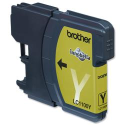 Brother LC1100HYY High Yield Yellow Inkjet Cartridge Ref LC1100HYY