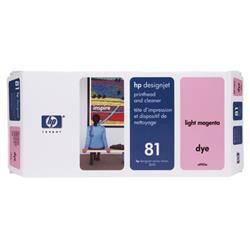 Hewlett Packard [HP] No. 81 Light Magenta Dye Printhead and Printhead Cleaner Ref C4955A