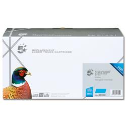 5 Star Office Remanufactured Laser Toner Cartridge 7000pp Cyan [HP No. 504A CE251A Alternative]