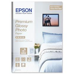 Epson Premium A4 Glossy Photo Paper Ref C13S042155 - 15 Sheets