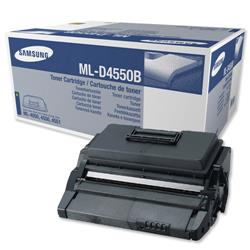 Samsung ML-D4550B Black Laser Toner Cartridge for ML-4550/ML4551 Ref MLD4550B/ELS