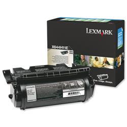 Lexmark Laser Toner Cartridge Return Program Page Life 21000pp Black Ref X644H11E