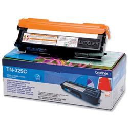 Brother TN-325C Cyan Laser Toner Cartridge Ref TN325C