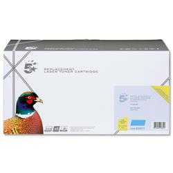 5 Star Office Remanufactured Laser Toner Cartridge 1000pp Cyan [Samsung CLT-Y4072S Alternative]