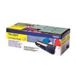 Brother TN-320Y Yellow Laser Toner Cartridge Ref TN320Y