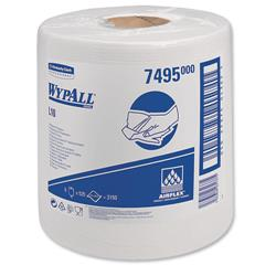Kimberly-Clark WYPALL L10 Wipers Centrefeed Airflex 500 Sheets per Roll 206x380 White Ref 7025/7495 - Pack 6